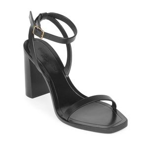 SAINT LAURENT Loulou leather sandals